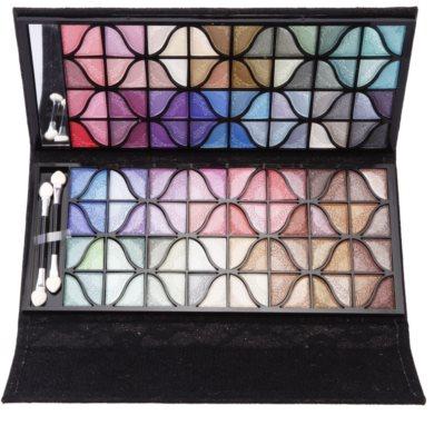 BrushArt Color paleta de sombras  com espelho pequeno 1