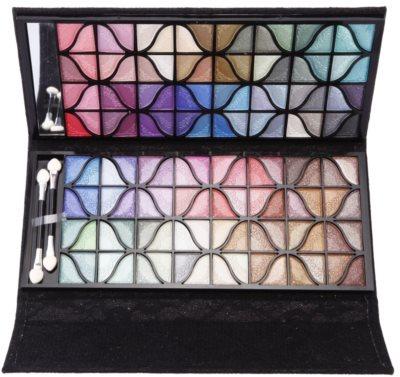 BrushArt Color paleta farduri de ochi cu oglinda mica 1
