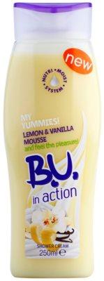 B.U. In Action - My Yummies! Lemon + Vanilla Foam tusoló krém nőknek
