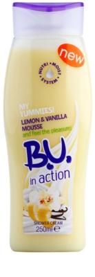 B.U. In Action - My Yummies! Lemon + Vanilla Mousse tusoló krém nőknek
