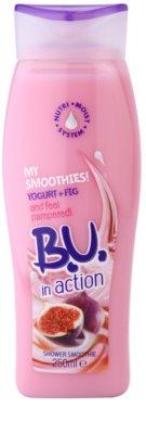 B.U. In Action - My Smoothies! Yogurt + Fig crema de dus pentru femei