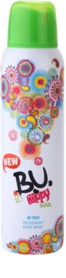 B.U. Hippy Soul deodorant Spray para mulheres