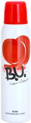 B.U. Heartbeat desodorante en spray para mujer
