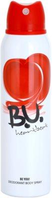 B.U. Heartbeat deospray pro ženy 1