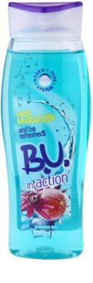 B.U. In Action Maracuja gel de ducha para mujer