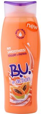 B.U. In Action - My Smoothies! Yogurt + Papaya żel pod prysznic dla kobiet