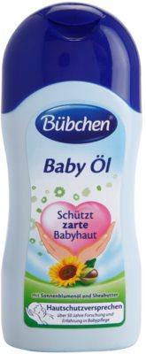 Bübchen Baby ošetrujúci olej pre citlivú pokožku