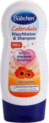 Bübchen Calendula detský umývací gél a šampón 2v1