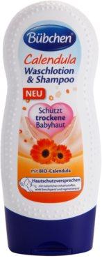Bübchen Calendula otroški gel za umivanje in šampon 2v1
