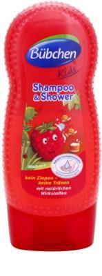 Bübchen Kids champú y gel de ducha 2 en 1