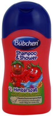 Bübchen Kids šampon a sprchový gel 2 v 1 cestovní balení