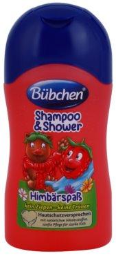 Bübchen Kids šampon in gel za prhanje 2v1 potovalno pakiranje
