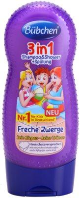 Bübchen Kids champô, condicionador e gel de duche 3 em 1