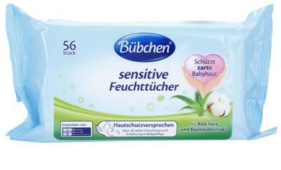 Bübchen Sensitive finom nedves törlőkendők gyermekeknek
