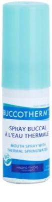 Buccotherm Natural Mint Bio ustno pršilo za svež dah s termalno vodo