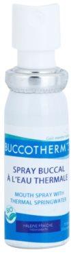 Buccotherm Natural Mint Bio ustno pršilo za svež dah s termalno vodo 1