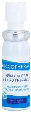 Buccotherm Natural Mint Bio Spray bucal refrescante com água termal 1