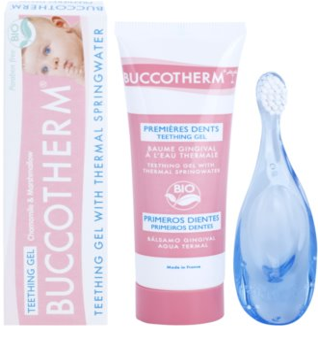 Buccotherm Teething Gel kozmetika szett I. 1