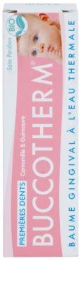 Buccotherm Teething Gel Gel de masaj calmant asupra gingiilor pentru copii mici cu apa termala 2