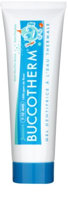 Buccotherm Junior gel dentífrico para niños con agua termal