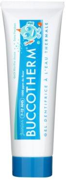 Buccotherm Junior Gel-Zahncreme für Kinder mit Thermalwasser