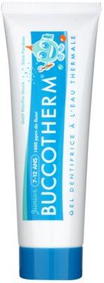 Buccotherm Junior gelasta zobna pasta za otroke s termalno vodo