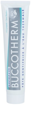 Buccotherm Whitening & Care dentífrico branqueador com água termal