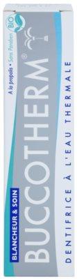 Buccotherm Whitening & Care dentífrico branqueador com água termal 2