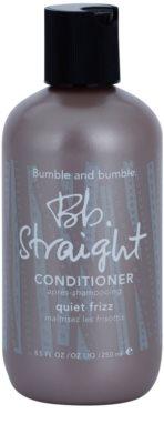Bumble and Bumble Straight acondicionador para alisar el cabello rebelde y encrespado