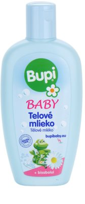 Bupi Baby leite corporal de bebé