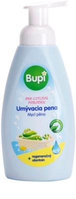 Bupi Baby espuma de limpeza para crianças para pele sensível