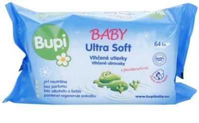 Bupi Baby Ultra Soft detské jemné vlhčené obrúsky