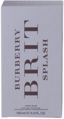Burberry Brit Splash Eau de Toilette para homens 4