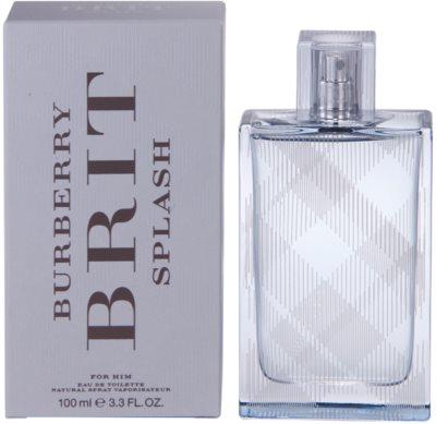 Burberry Brit Splash Eau de Toilette para homens