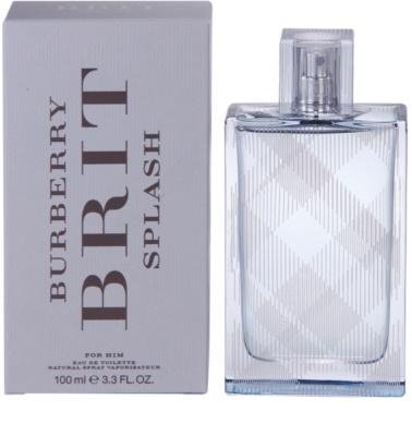 Burberry Brit Splash Eau de Toilette pentru barbati