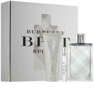 Burberry Brit Splash lotes de regalo