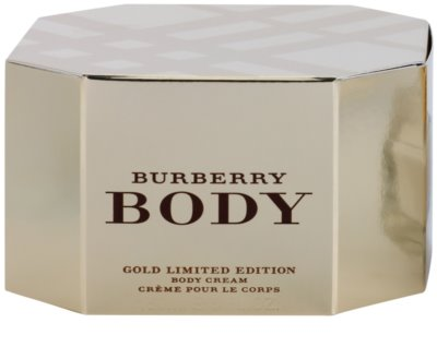 Burberry Body Gold Limited Edition creme corporal para mulheres 3