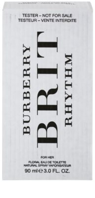 Burberry Brit Rhythm for Her Floral тоалетна вода тестер за жени 2