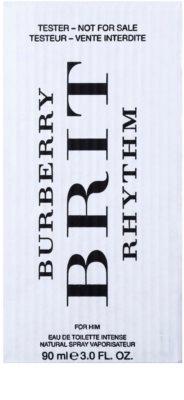 Burberry Brit Rhythm for Him Intense toaletná voda tester pre mužov 2