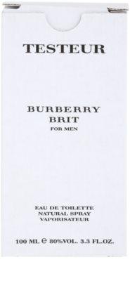 Burberry Brit Men woda toaletowa tester dla mężczyzn 1