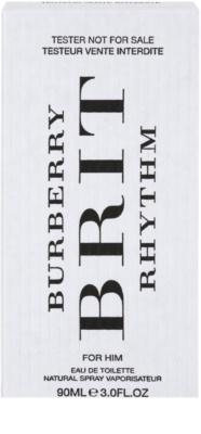 Burberry Brit Rhythm toaletní voda tester pro muže 2