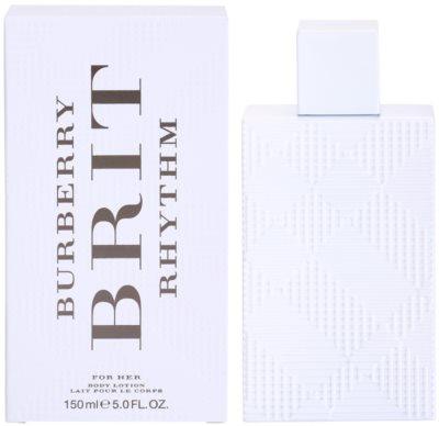 Burberry Brit Rhythm tělové mléko pro ženy