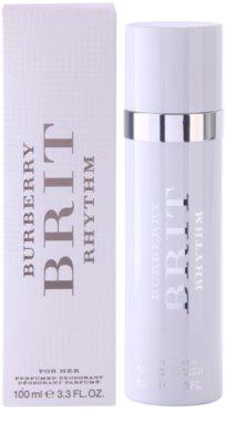 Burberry Brit Rhythm deodorant s rozprašovačem pro ženy