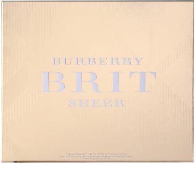 Burberry Brit Sheer zestawy upominkowe 2