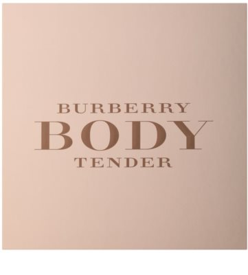 Burberry Body Tender coffrets presente 2