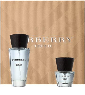 Burberry Touch for Men lote de regalo
