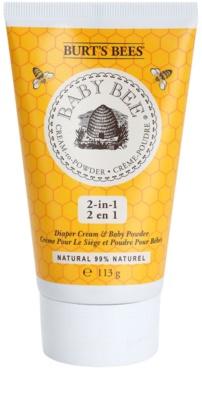 Burt´s Bees Baby Bee crema con textura de polvos para uso diario