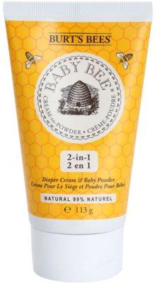 Burt´s Bees Baby Bee Puder Creme zur täglichen Anwendung