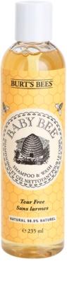 Burt´s Bees Baby Bee champô e gel de banho 2 em 1 para uso diário