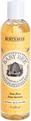 Burt´s Bees Baby Bee Sampon és lemosó 2 az 1-ben mindennapi használatra